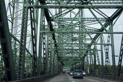 interstate bro royaltyfria foton