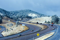 interstate colorado Arkivfoto