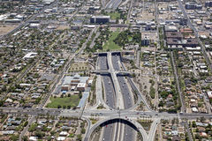 Interstate 10 at the Deck Park Stock Images
