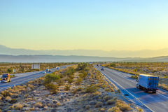 Interstate 10 direction Blythe Royalty Free Stock Images