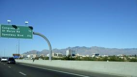 Interstate-10 en Tucson, AZ fotografía de archivo