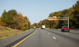 Interstate Highway 95 in Virginia Stock Photo