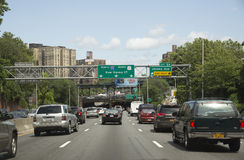 Interstate highways New York USA Royalty Free Stock Images