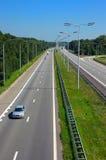 interstate huvudväg arkivbild