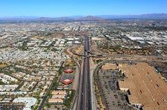 Interstate 10 & 60 interchange Stock Photography