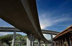 interstate konstruktion Royaltyfri Bild