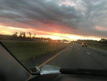 Louisiana sunrise royalty free stock photos