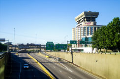 Interstate 70 in St. Louis, MO. Stock Photography
