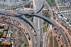 Interstate 10 & State Route 60 Interchange Royalty Free Stock Images