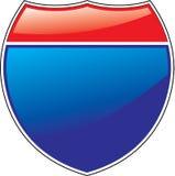 interstate tecken Royaltyfria Foton