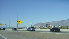 Interstate-10 in Tucson, AZ Royalty Free Stock Images