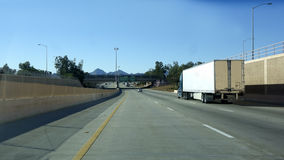 Interstate-10 in Tucson, AZ Stock Image