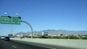 Interstate-10 in Tucson, AZ Stock Photography