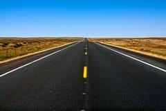 interstate väg Royaltyfria Bilder