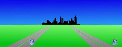 interstates atlanta бесплатная иллюстрация
