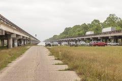 Interstates 10 em Louisiana Imagem de Stock