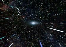 Interstellar ταξίδι Στοκ φωτογραφία με δικαίωμα ελεύθερης χρήσης