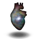Interstellar Heart Royalty Free Stock Photo