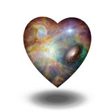 Interstellar Heart Royalty Free Stock Photos
