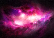 interstellar nebulaavstånd för oklarhet Royaltyfri Fotografi