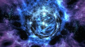 Interstellar Wormhole Travel Stock Photos