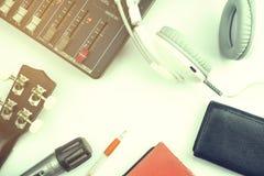 Intertainment und Kommunikationsausrüstungssegment Stockfoto