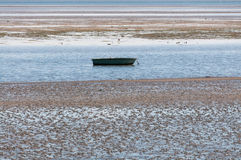 Intertidal Zone at the Hallig Langeness Royalty Free Stock Photography