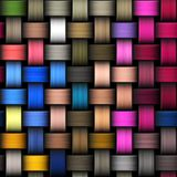 Intertwined abstract background Royalty Free Stock Images