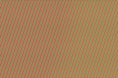 Intertwined grid - tomato and spring green weave. Royalty Free Stock Photo