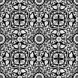 Intertwining Floral Seamless Pattern Royalty Free Stock Photo
