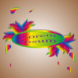 Intervalle de couleurs Photos libres de droits