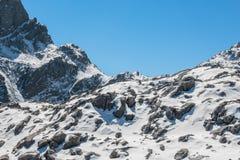 Intervalle de haute montagne Photos libres de droits