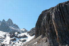 Intervalle de haute montagne Image libre de droits