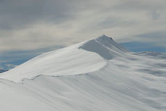 Intervalle de montagne de deux pouces Images stock