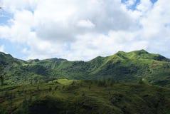 Intervalle de montagne de la Guam Images libres de droits