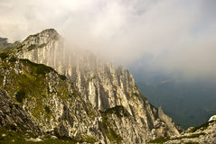 Intervalle de montagne de Piatra Craiului Images stock