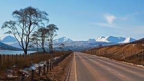 Intervalle de montagne de Torridon Photos stock