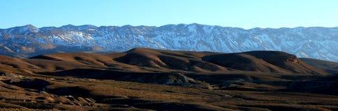 intervalle de montagne du Maroc d'atlas image stock