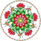 Intervalle floral de configuration Image libre de droits