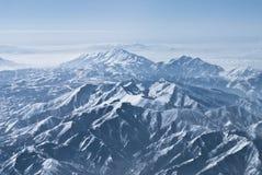 Intervalles de montagne excessifs Image libre de droits