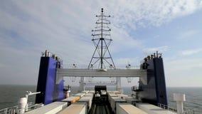 Intervallo del carico della barca stock footage