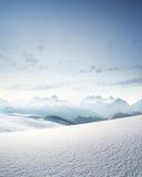 Intervallo di alta montagna Fotografia Stock