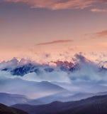 Intervallo di alta montagna Fotografie Stock