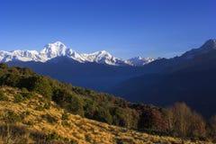 Intervallo di Annapurna Fotografia Stock Libera da Diritti