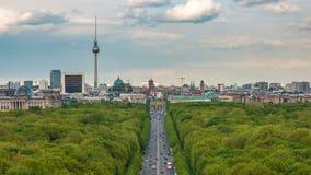 Intervallo di Berlin Time video d archivio