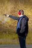 Intervallo di fucilazione Fotografia Stock
