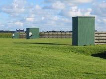 Intervallo di fucilazione in Guernsey Fotografie Stock