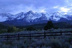 Intervallo di montagna fotografie stock libere da diritti