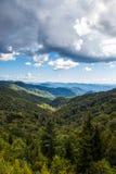 Intervallo di montagna Fotografia Stock