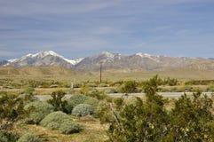 Intervallo di montagna del deserto Fotografie Stock Libere da Diritti